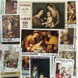Collection de timbres Murillo oblitérés