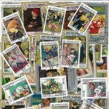 Collection de timbres Peintres Francais oblitérés