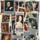 Collection de timbres Peintres Flamands oblitérés
