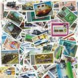 Used stamp collection Engines