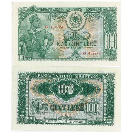 Albanie - Pk N° 30 - Billet de 100 Leke