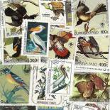 Used stamp collection Audubon