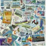 Stamp collection used Boats
