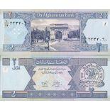 Banknote Afghanistan Pick number 65 - 2 Afghani 2002