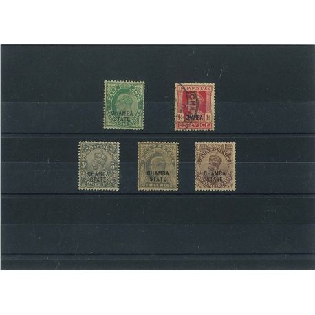 Chamba - 5 timbres différents
