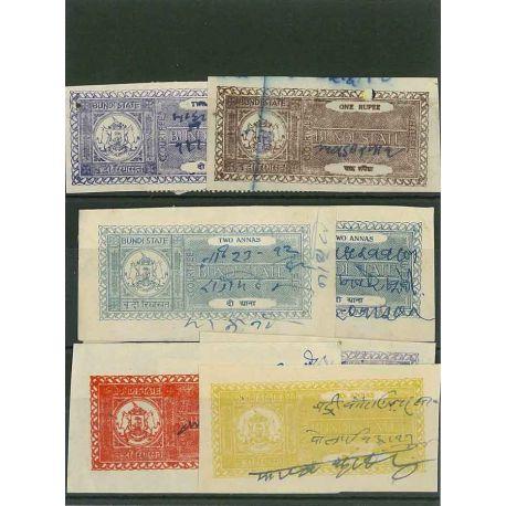 Bundi - 5 timbres différents