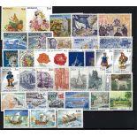 Briefmarke Monaco 1992 neues ganzes Jahr