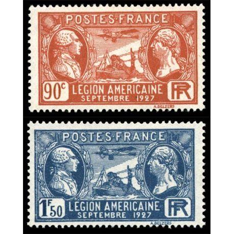 Timbres France Série N° 244/245 neuf sans charnière