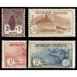 Timbres France Série N° 229/232 neuf sans charnière