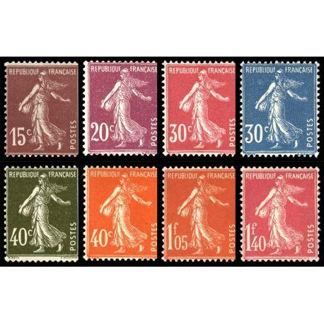 Timbres France Série N° 189/196 neuf sans charnière