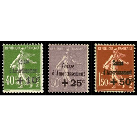 Timbres France Série N° 275/277 neuf sans charnière