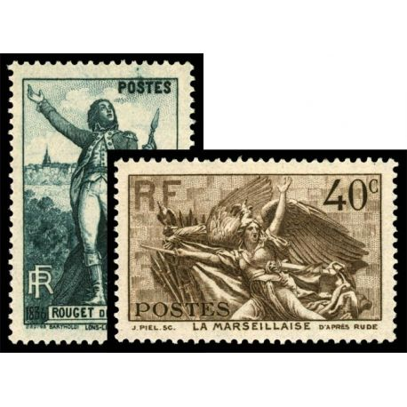 Timbres France Série N° 314/315 neuf sans charnière