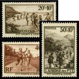 Briefmarken Reihe von France N ° 345/347 Postfrisch