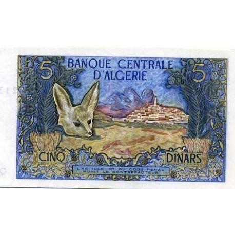 Algerien - Pk Nr. 126-5 Hinweis
