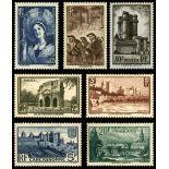 Serie francobolli di Francia N ° 388/394 Nuevo non linguellato