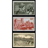 Briefmarken Reihe von France N ° 448/450 Postfrisch
