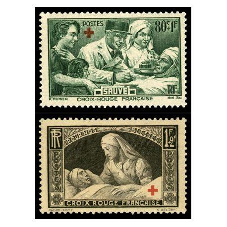 Timbres France Série N° 459/460 neuf sans charnière