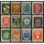 Timbres France Série N° 526/537 neuf sans charnière