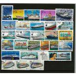 Collezione di francobolli vapori cancellati