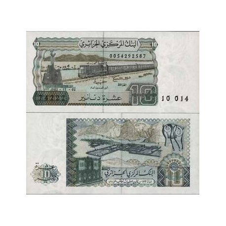 Billets collection Algerie Pk N° 132 - 10 Dinars
