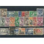 Sammlung gestempelter Briefmarken Quote vom Gold