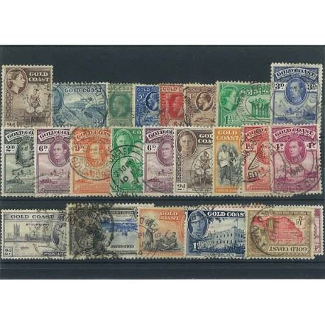 Bewertung Gold - 10 verschiedene Briefmarken