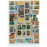 Penrhyn Sammlung Von gestempelt Briefmarken