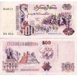 Bello banconote Algeria Pick numero 139 - 500 Dinar 1992