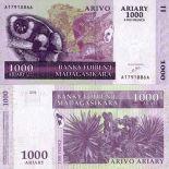 Collezione banconote Madagascar Pick numero 89 - 1000 FRANC