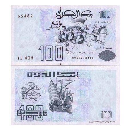 Algeria - Pk # 137 - 100 note Dinars