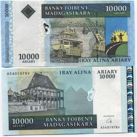 Madagascar - Pk No. 999 - 10000 Franks ticket