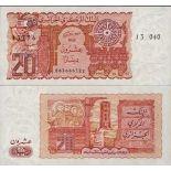 Schone Banknote Algerien Pick Nummer 133 - 20 Dinar 1982