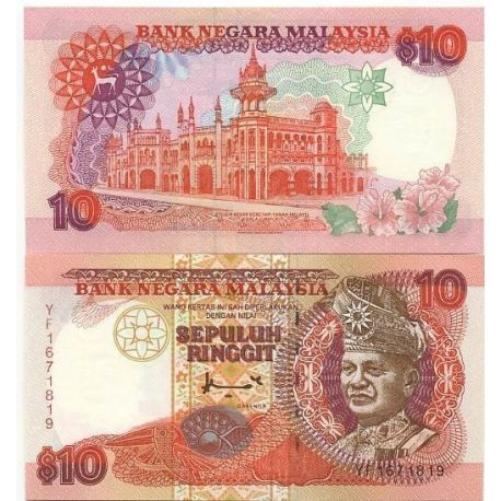 Banknote collection Malaysia / Malay States Pick number 38 - 10 Ringgit