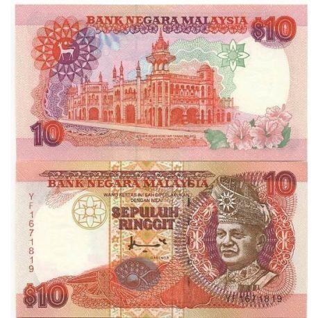 Billets de banque Malaisie Pk N° 38 - 10 Ringgit