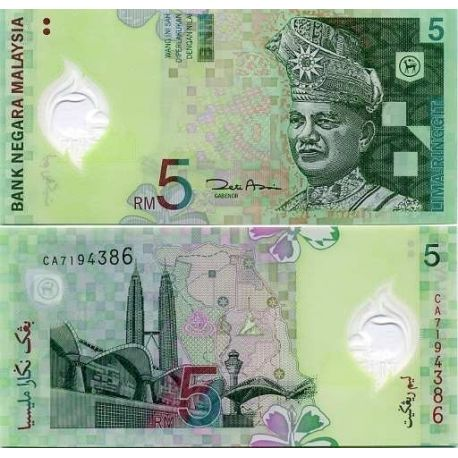 Banknote collection Malaysia / Malay States Pick number 47 - 5 Ringgit
