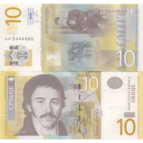 Billets de collection Billets collection Serbie Pk N° 54 - 10 Dinara Billets de Serbie 1,00 €