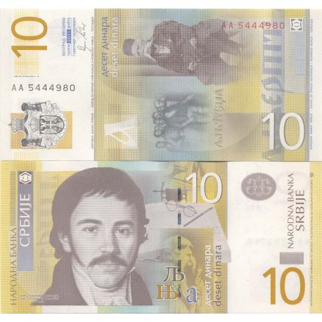 Billets collection Serbie Pk N° 9999 - 10 Dinara
