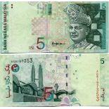 Billet de collection Malaisie Pk N° 41 - 5 Ringgit