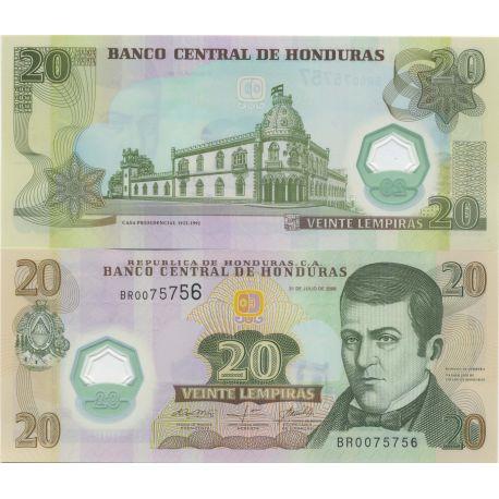 Billet de banque Honduras Pk N° 9999 - 20 Lempira