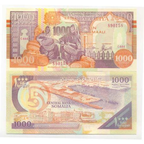 Somalia - Pk No. 9999 - Ticket of 1000 Shillings