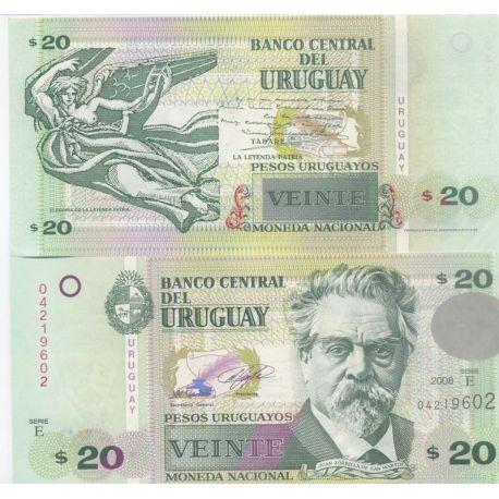 Uruguay - Pk No. 9999 - 20 Pesos ticket