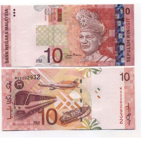 Billet de banque Malaisie Pk N° 46 - 10 Ringgit