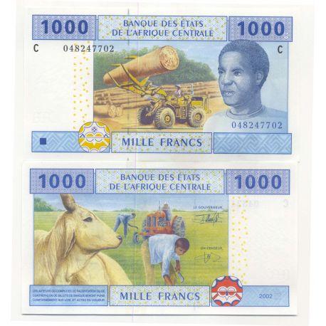 Afrique Centrale Tchad - Pk N° 607 - Billet de 1000 Francs