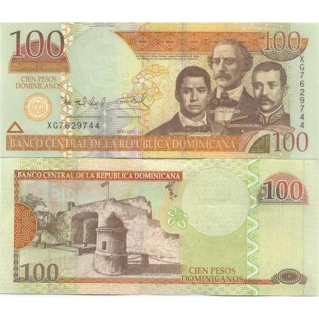 Billets de collection Billets de banque Dominicaine Repu. Pk N° 184 - 100 Pesos Billets de République Dominicaine 8,00 €