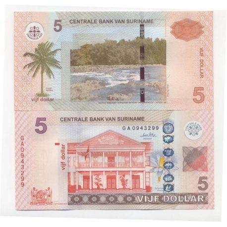 Surinam - Pk Nr. 9999-$ 5 Hinweis