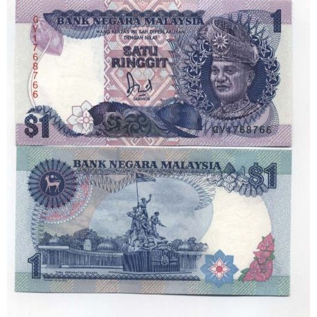 Billet de collection Malaisie Pk N° 27 - 1 Ringgit