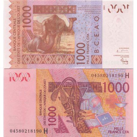Afrique De L'ouest Niger - Pk N° 615 - Billet de 1000 Francs