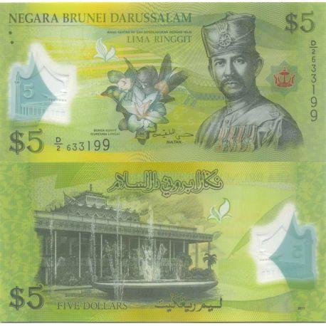 Brunei - Pk N° 9999 - Billet de 5 Ringgit