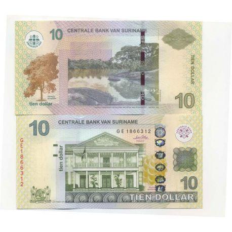 Billets de collection Billet de collection Surinam Pk N° 163 - 10 Dollars Billets du Surinam 13,00 €