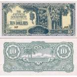 Banknote collection Malaysia / Malay States Pick number 7 - 10 Ringgit